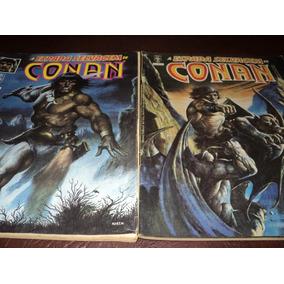 Oito Revistas Conan Por Um Preço Ótimo. Confira Imagens!!!