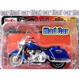 Mc Mad Car 1/18 Moto Harley Davidson Coleccion Escala
