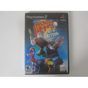 Chicken Little Ace In Action Ps2 Play Station 2 Game Reaktor