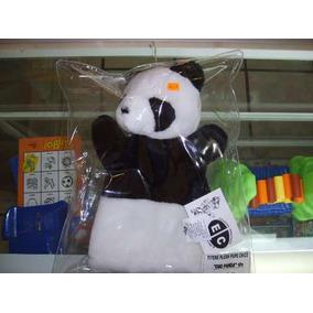Títere De Peluche Oso Panda Marca Educar