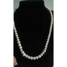 3e64a5879fc8 Collar Perlas Finas - Collares y Cadenas Perlas en Mercado Libre México