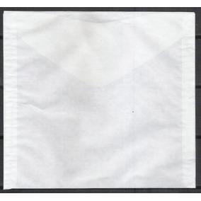 Ev7 Envelope 18 X 15 Cm Papel Manteiga, Proteção Dos Selos