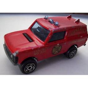Carrinho - Miniatura - Majorette 246 Range Rover - Fire Dept
