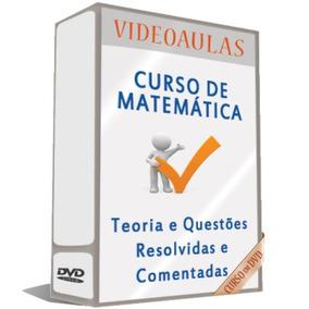 Curso 26 Dvds Matemática Completa Para Concursos A8