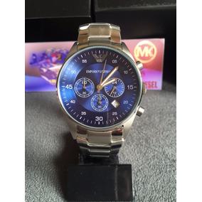 456161e5f3f Relogio Emporio Armani 5860 Original Em Aço - Relógios De Pulso no ...