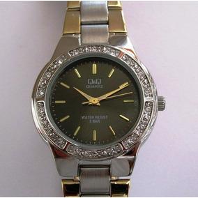 f8befa7829f Relógio Q Q Extra Chato Todo Em Aço Misto - Relógios no Mercado ...