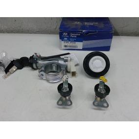 Jogo Chaves Ignição Portas/tanque Hyundai Hr/h100
