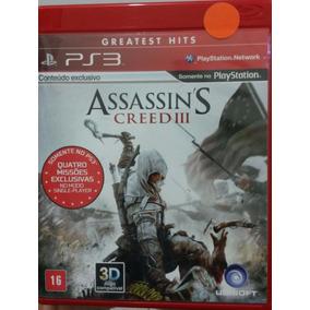 Assassins Creed 3 Ps3 Semi Novo Pronta Entrega