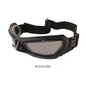 5cc39a1922cd5 Oculos Moto Ski Airsoft Com Lentes Extras De Policarbonato
