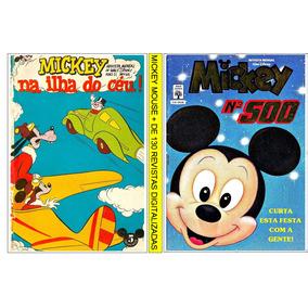 8 Dvds Com + 500 Revistas Do Mickey Digitalizadas
