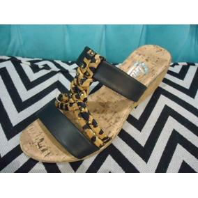 5e3c89f367526 Sandalias Zuecos Dama Con Base De Corcho - Zapatos de Mujer en ...