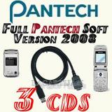 Cable Datos Usb P/ Pantech 1410 Pg1410 3210 Pg3210 + 3 Cds