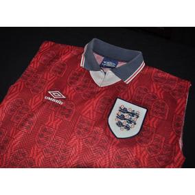 Camiseta De Inglaterra, Umbro, 1994. Sin Mangas