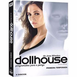 Dvd Dollhouse 1ª Temporada - 4 Discos - Lacrado Frete 12,00