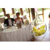 35 Esferas De Cristal Y 35 Velas Tea Light - Envio Incluido