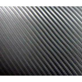 Vinilo Simil Fibra De Carbono - Ancho 1.52 Mts Negro