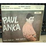 Paul Anka Que Lastima   Velas Rojas Simple C tapa Argentino 9391147cfa6