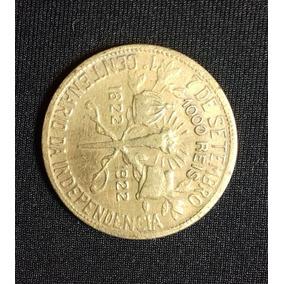 Moeda 1000 Réis - 1922 - 100 Anos Independência