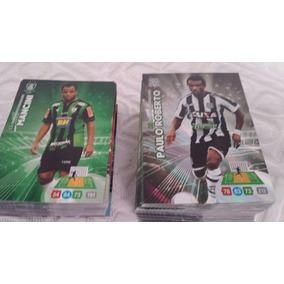 Lote 05 Cards Adrenalyn Campeonato Brasileiro 2014