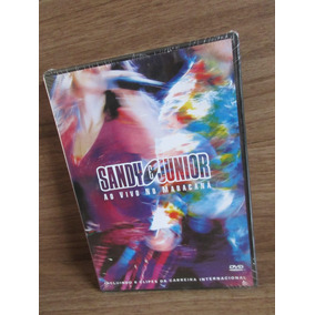Dvd - Sandy E Junior Ao Vivo No Maracanã - Raro - Novo