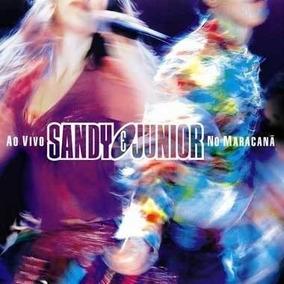 Cd Duplo - Sandy & Junior - Ao Vivo No Maracanã