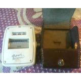 Antiguo Fotometro Bewi Automat Aleman C/estuche Cuero Orig,