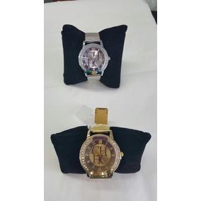 Carolina Herrera Reloj Metalico Ch