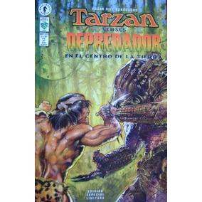 Tarzán Vs Depredador En El Centro De La Tierra Editorial Vid
