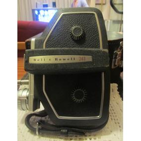 El Arcon Antigua Camara Filmadora De16 Mm Bell & Howell 240
