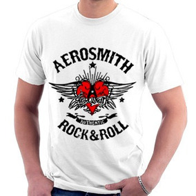 Camiseta Aerosmith Rock Música Rio De Janeiro