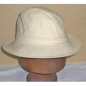 Antiguo Sombrero Capelina A Mano Años 40 Excelente ! Usado · Antiguo  Sombrero Artesanal Fieltro C  Crudo Alas Pespunteada ab118938f75