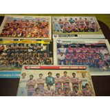Lote Com 5 Posters Fortaleza Campeão Ceará Placar