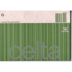 Manual Proprietário Celta 2007 C/suplementos E Bolsinha Plás
