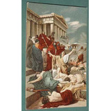 Postal Postcard Italia Litografia Maccabei Ciseri Firenze