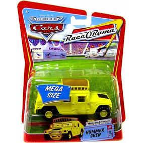 Disney Cars Orig.mattel Hummer Sven #11 Mega Size