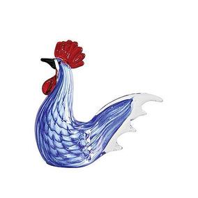 Galo Decorativo Esilo Murano Azul ( 36 )