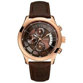 Relógio Guess U14504g1 Cronógrafo Marrom