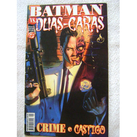 Batman Vs Duas Caras Edição Especial Mythos Editora 2002