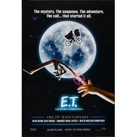 Poster Et O Extraterrestre #4 E.t. Extra Terrestre - 30x42cm