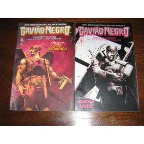 Gavião Negro 1 Ao 3 Mini Série Formato Comics Ed.abril 1990
