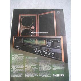 Propaganda Antiga - Aparelho Som Philips