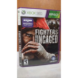 Fighters Uncaged (con Manual) Xbox 360 Kinect Od.st