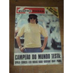 Revista Quatro Rodas N 115 Fevereiro De 1970 - Teste