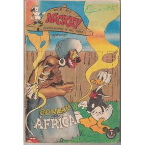 *ock* Mickey Nº 8-maio De 1953donald Na Africa-super Raro