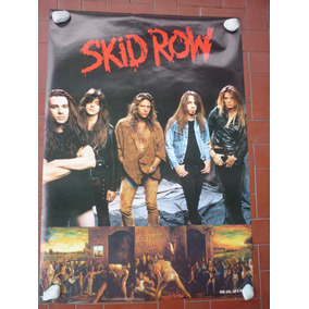 Skid Row/sebastian Bach - Slave To The Grind Poster