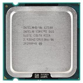 Processador Intel Core 2 Duo E7500 O & M - Seminovo