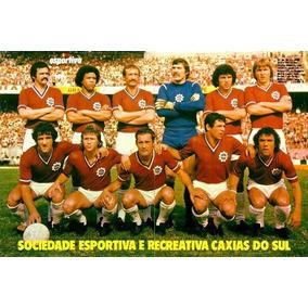 Poster. Soc.esp.rec. Caxias Do Sul. Luiz Felipe Scolari!