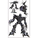 Adesivo Grande Parede Cartela Nº 2 Transformers Megatron