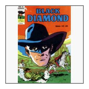 Black Diamond Nº 4: A Pena Rubra - Ebal - 1974 - Hq