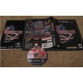 Game Cube: Resident Evil 2 Americano Completo!! Raríssimo!!